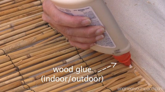 Cover Up the Walls With Reed Fencing
