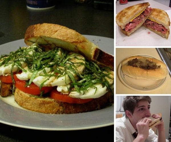 The Top Ten Sandwich Recipes