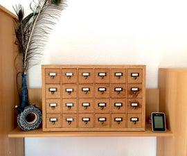 DIY Apothecary Cabinet