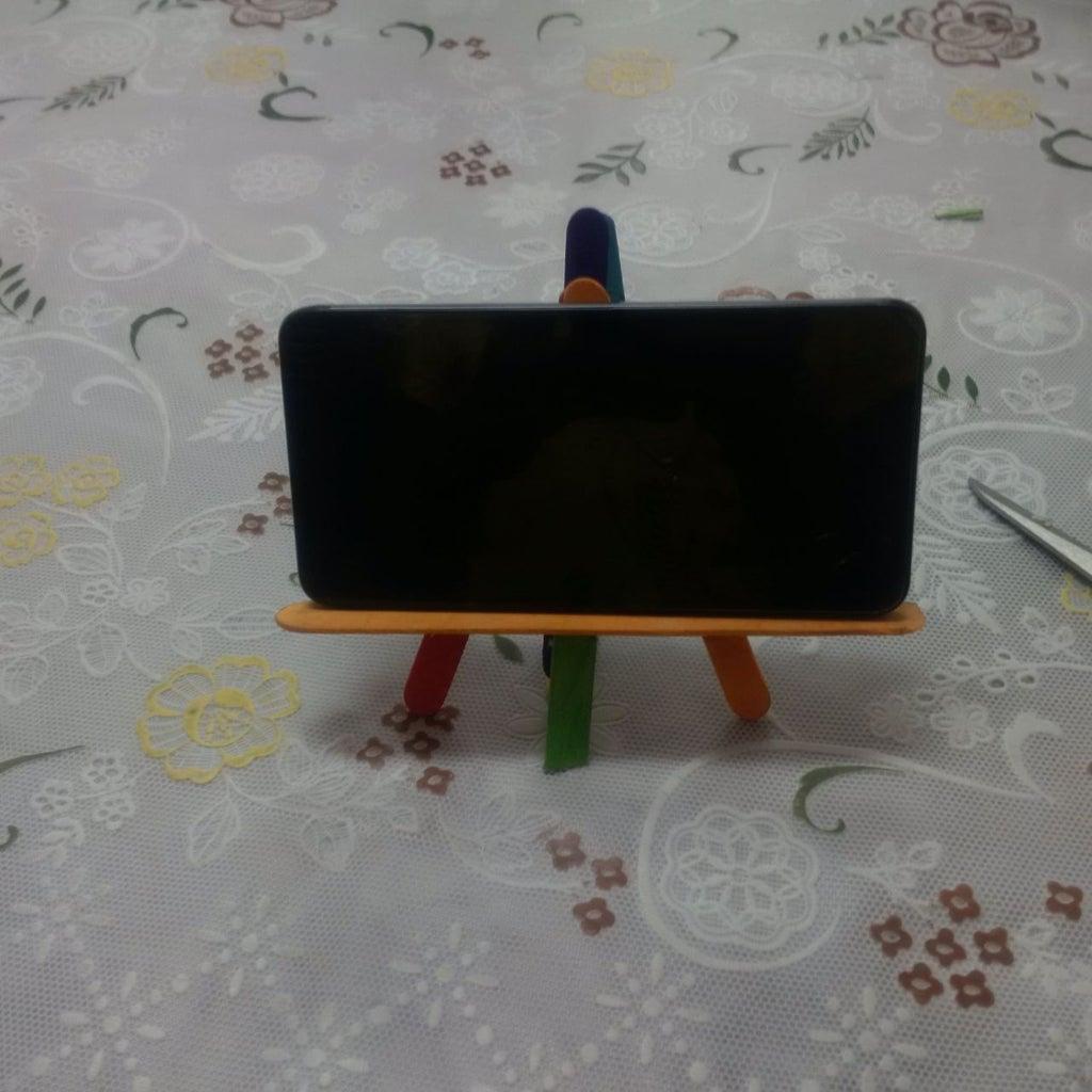 Popsicle Phone Holder