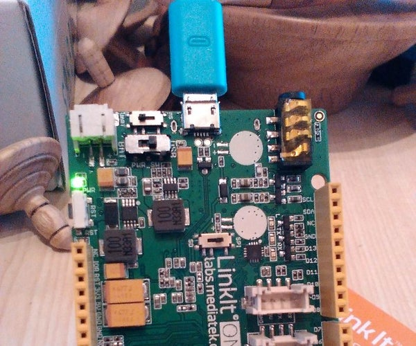 Linkit One - in the Beginning