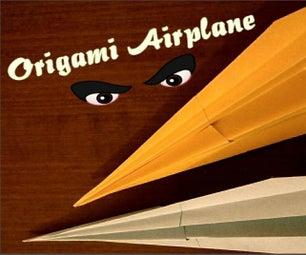 Origami Airplane - Paper Plane
