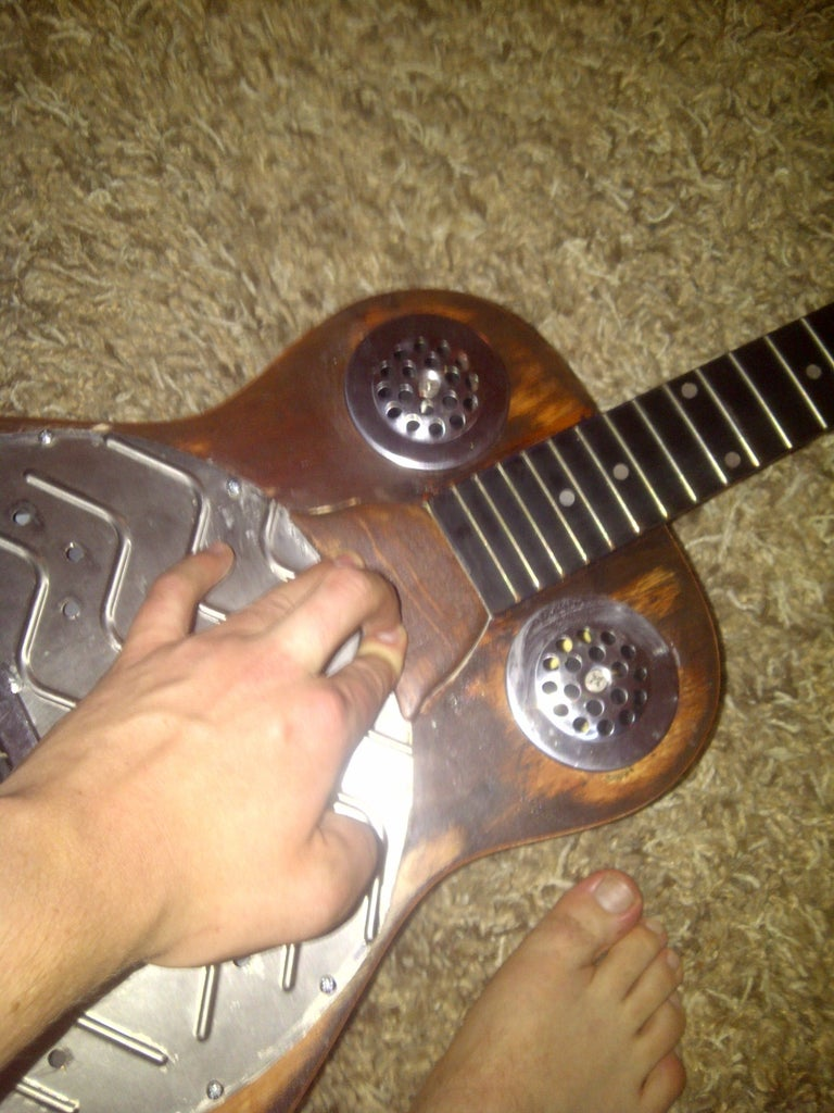 Applying Soundhole Covers and Coverplate