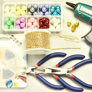 Craft Supplies for Jewelry Making the Dangle Earrings: