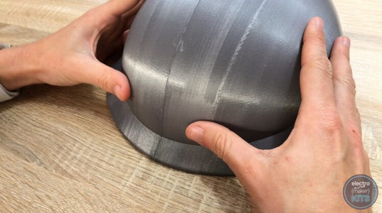 Begin Assembling the 3D Printed Parts: