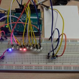 Cyclone Game Using Arduino