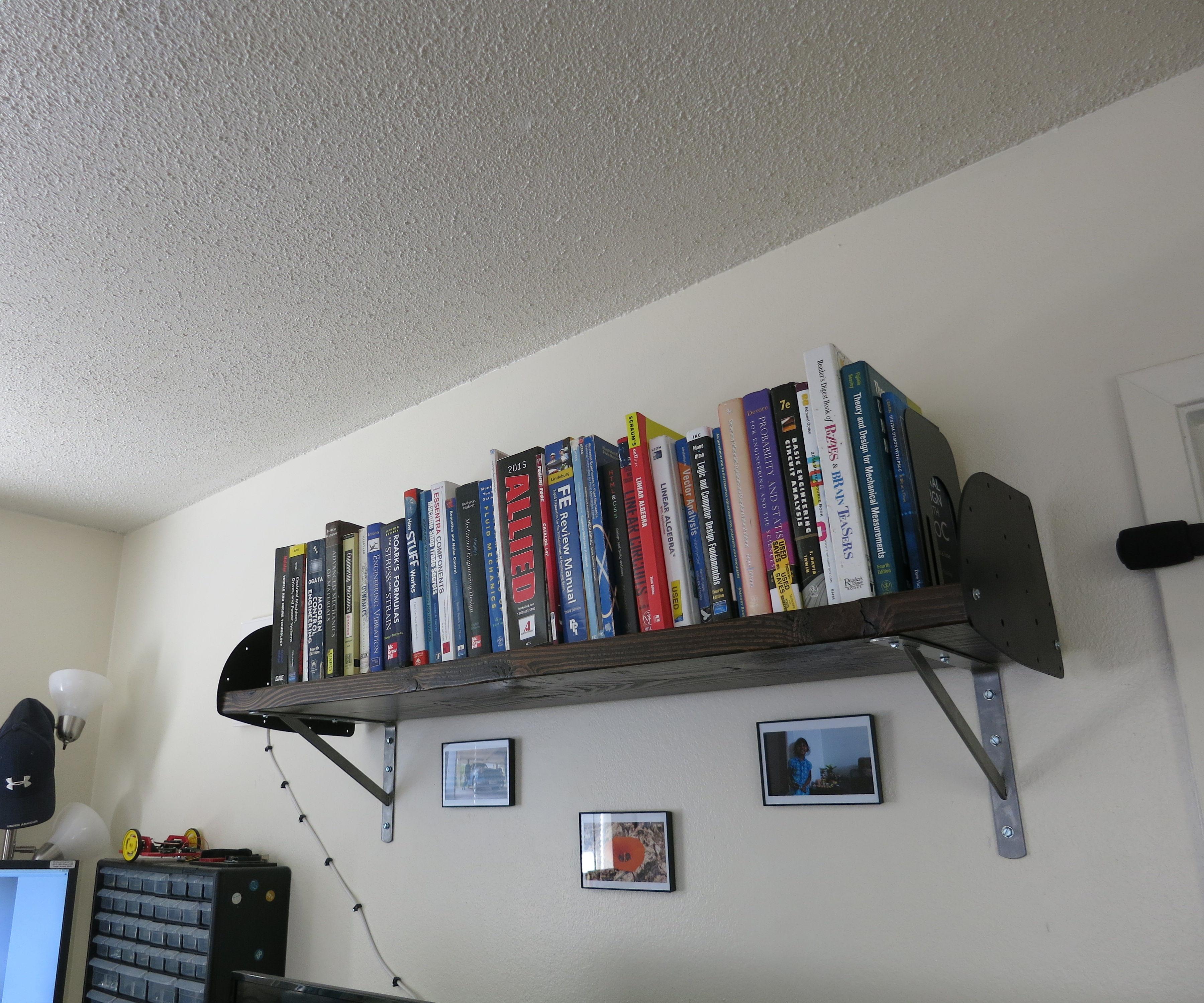 Custom Heavy Duty Bookshelf