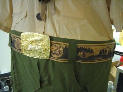 Make Belt Buckle