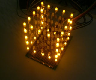 LED CUBE Arduino 5x5x5