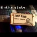 PiE-Ink Name Badge