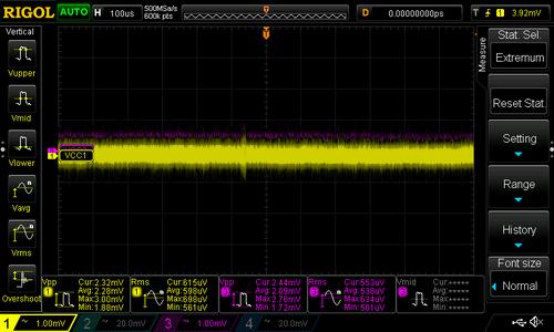 Test: LDO Noise
