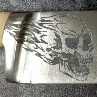 Salt Water Metal Etching