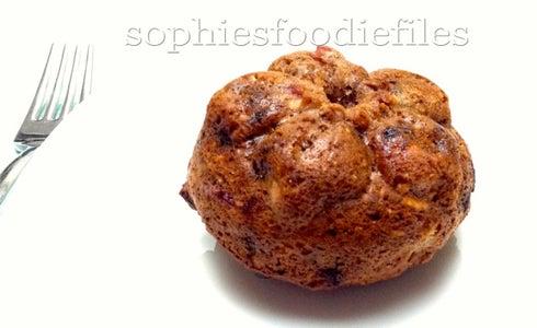 Oil-free Wholegrain Oat Plum Muffins