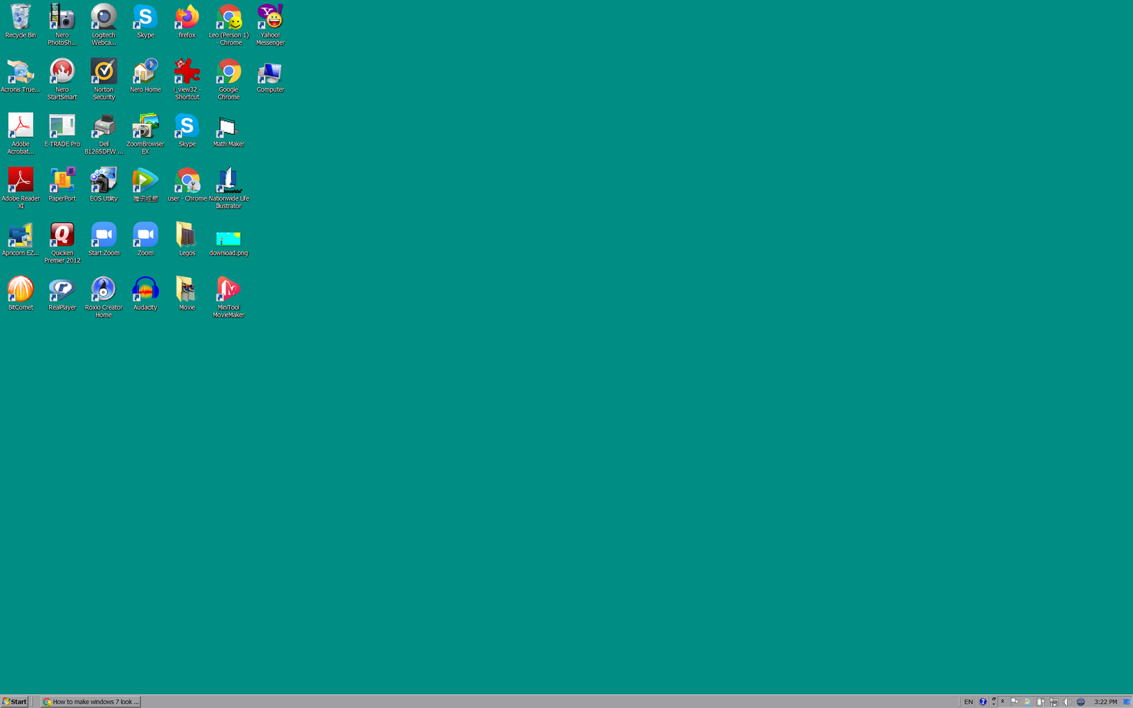 How to Make Windows 7 Look Like Windows 95