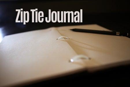 Zip Tie Journal
