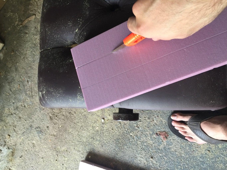 Add Some Decorative Styrofoam Moldings.