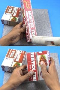 Let's Cut & Stick Cardboard Box!