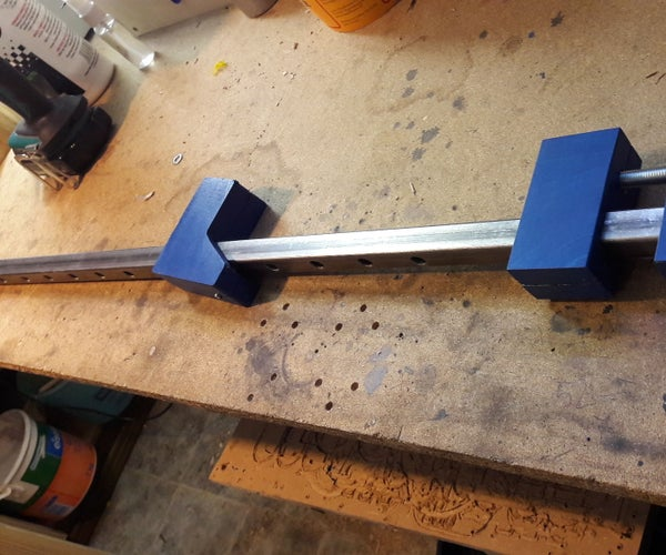Easy Made Bar Clamp