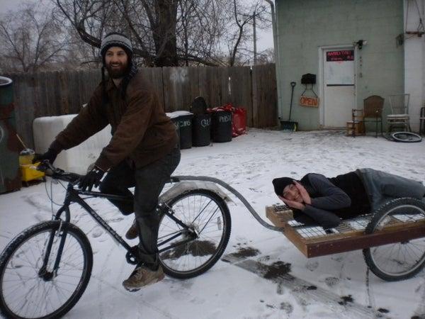 Hammer Time! Bike Trailer