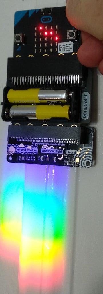 Micro:bit Spectrometry