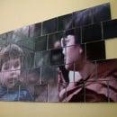 CD Case Mural