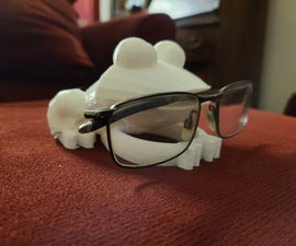 Frog Phone Charger and Glasses Holder