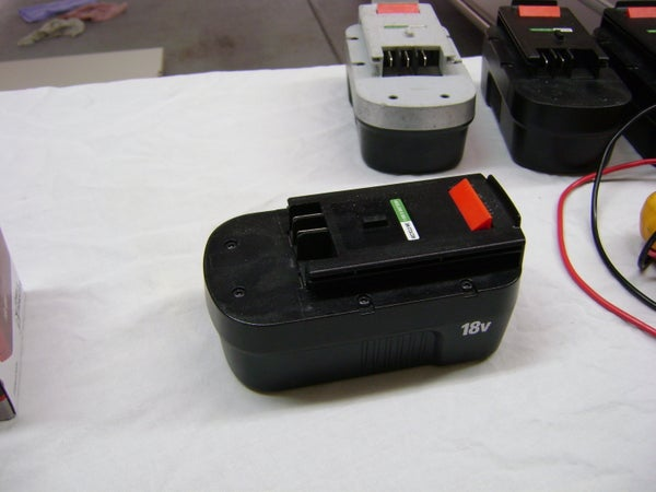 Cheap Black & Decker 18Volt Battery
