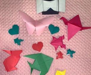 青蛙折纸游戏