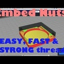 How to Embed Nuts in 3d Printed Objects