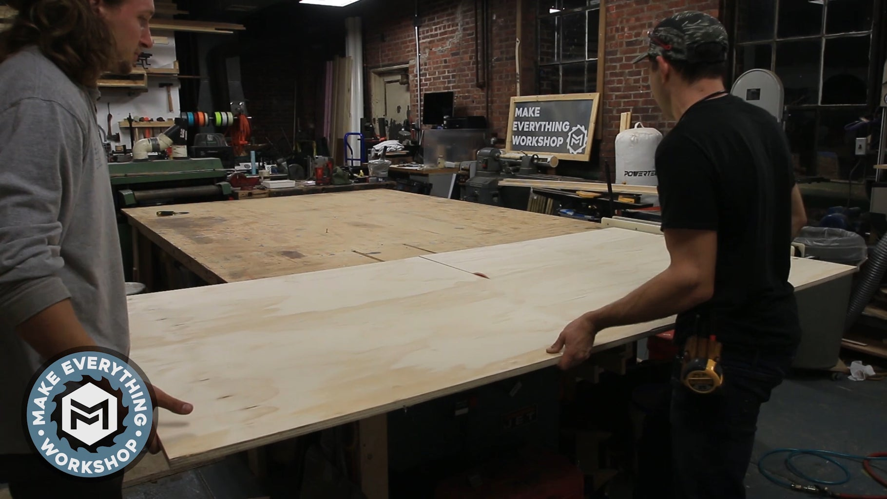 Cut Up the Material for the Table