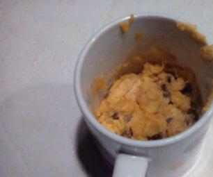 Microwave Cookie in a Mug