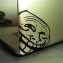 Stencil-Like Vinyl Transfer For Laptops