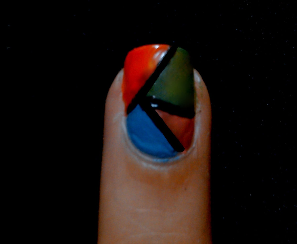 Geometric Nail Art Tutorial