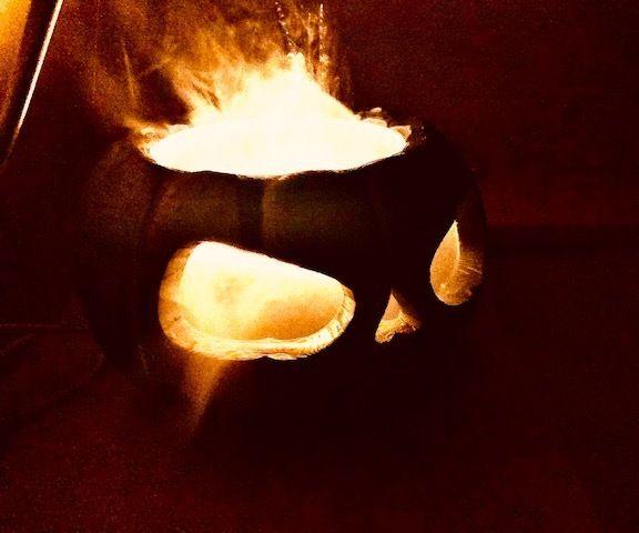 Halloween Jack-o-lantern Made Interesting