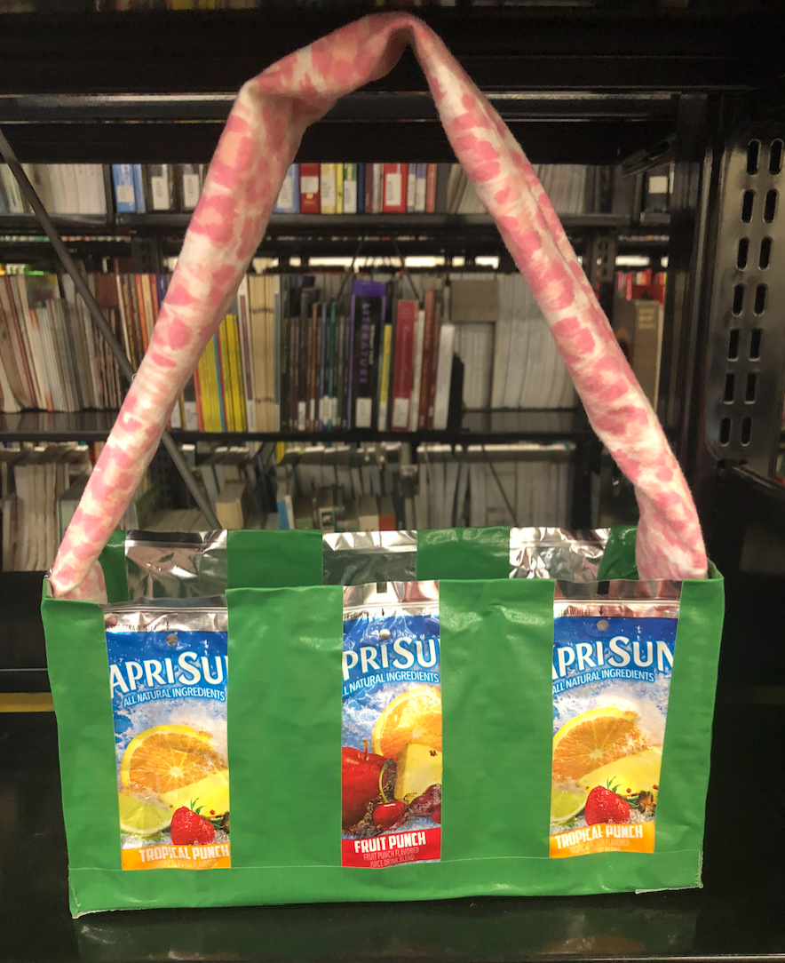 Let Glue Dry, and Then You Have a Capri Sun Bag!