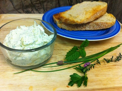 Aromatic Springtime Herbed Butter