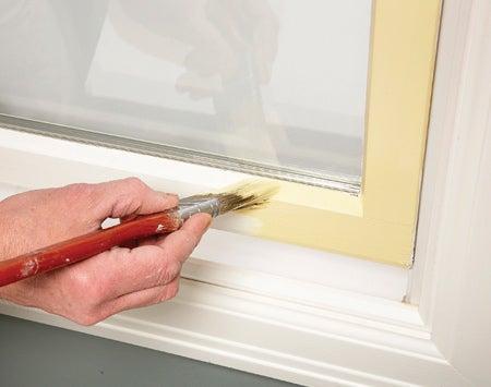 Painting Window Sashes