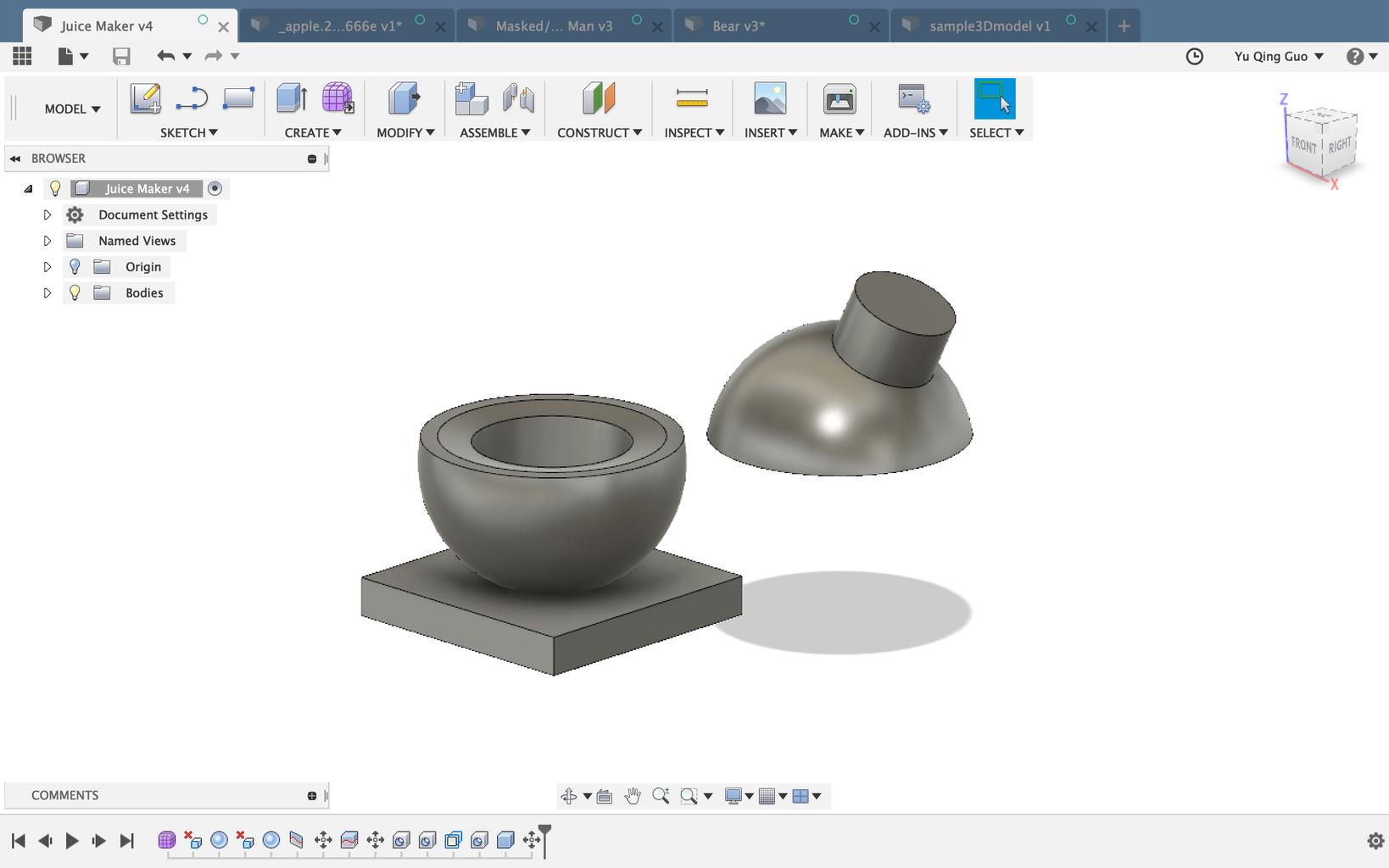 Design Prototypes - 3D Printing