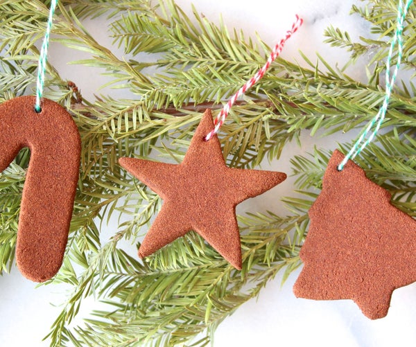 How to Make Cinnamon Ornaments