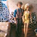 Miniature dollhouse lamps
