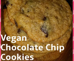 Easy Vegan Chocolate Chip Cookies