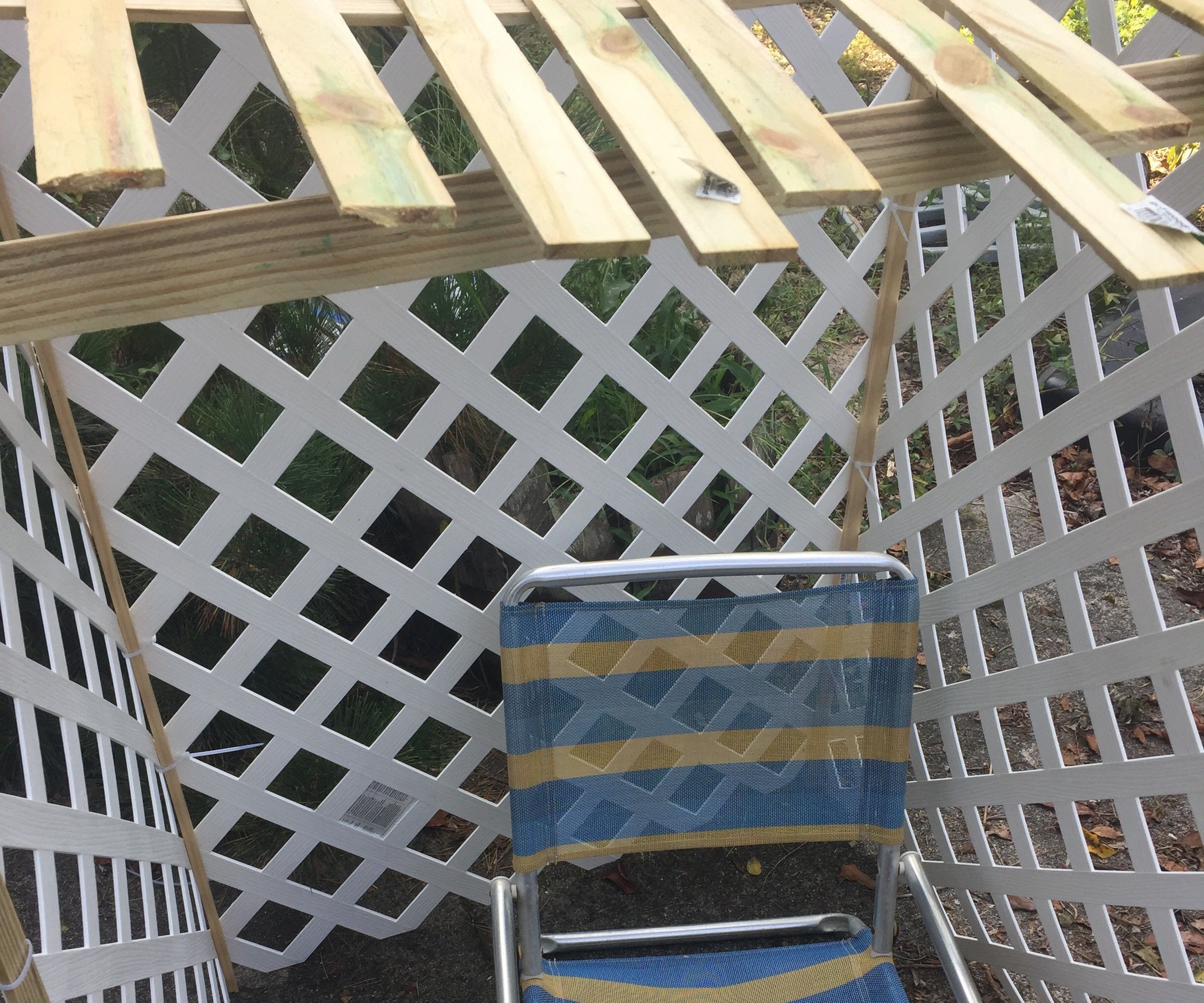 DIY One-man Sukkah for the Road for $30