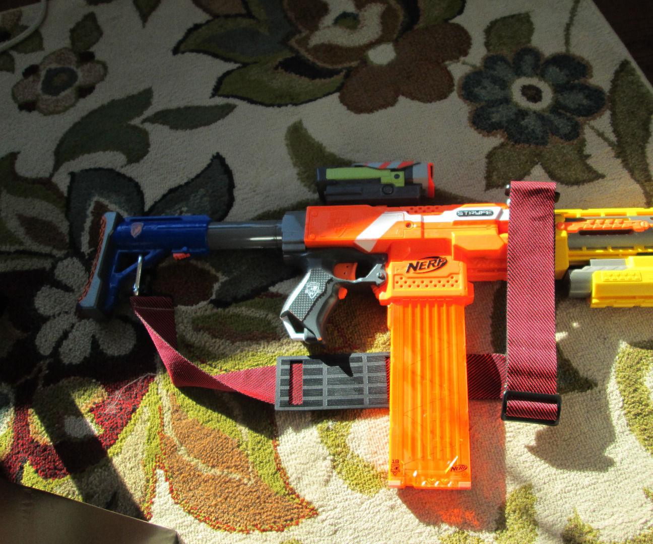 Nerf Assault Rifle - the NEC-18
