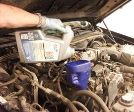 Vehicle Oil Change 101