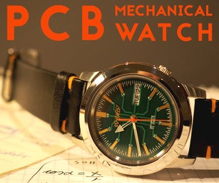 PCB Dial Mod for Mechanical Watch