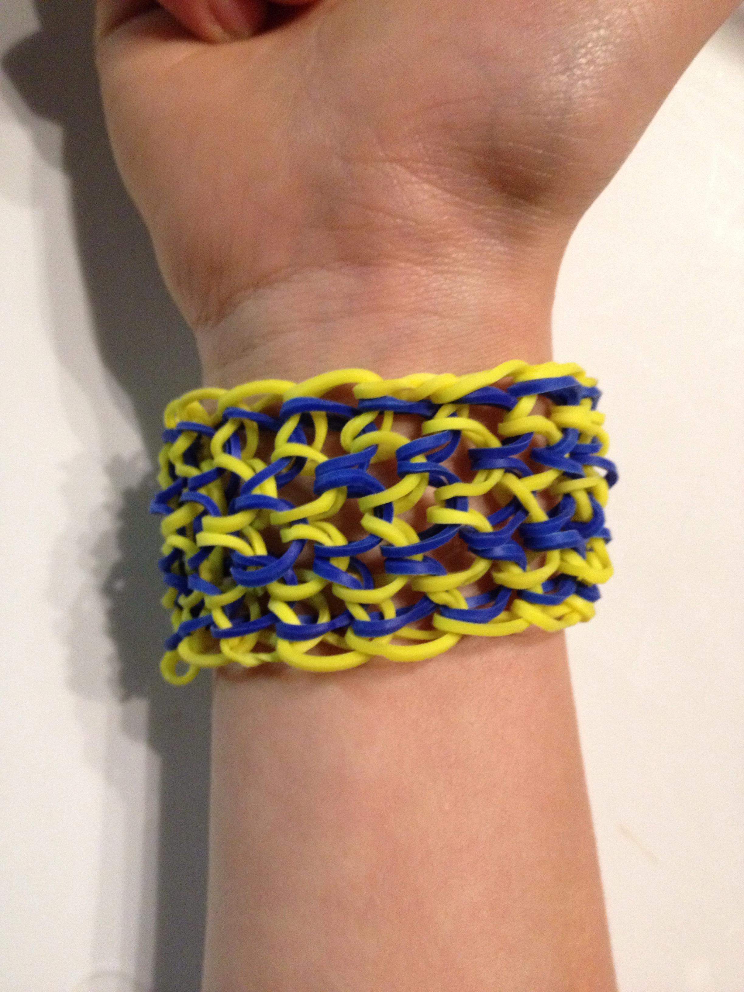 Dragon scale rubber Band Bracelet