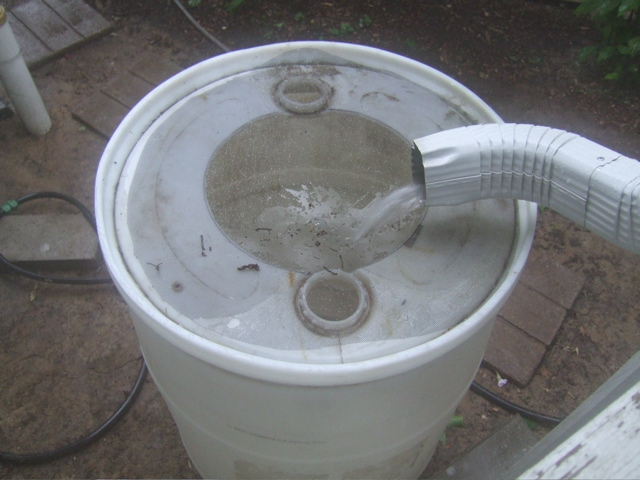 Need Free Water?  Build a Rain Barrel