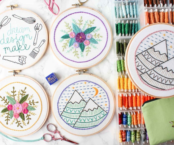 Tips for Embroidering + What to Embroider Next