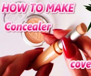 DIY How to Make Concealer Cover Stick