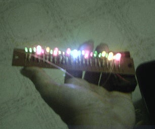 A Simple LED Tower